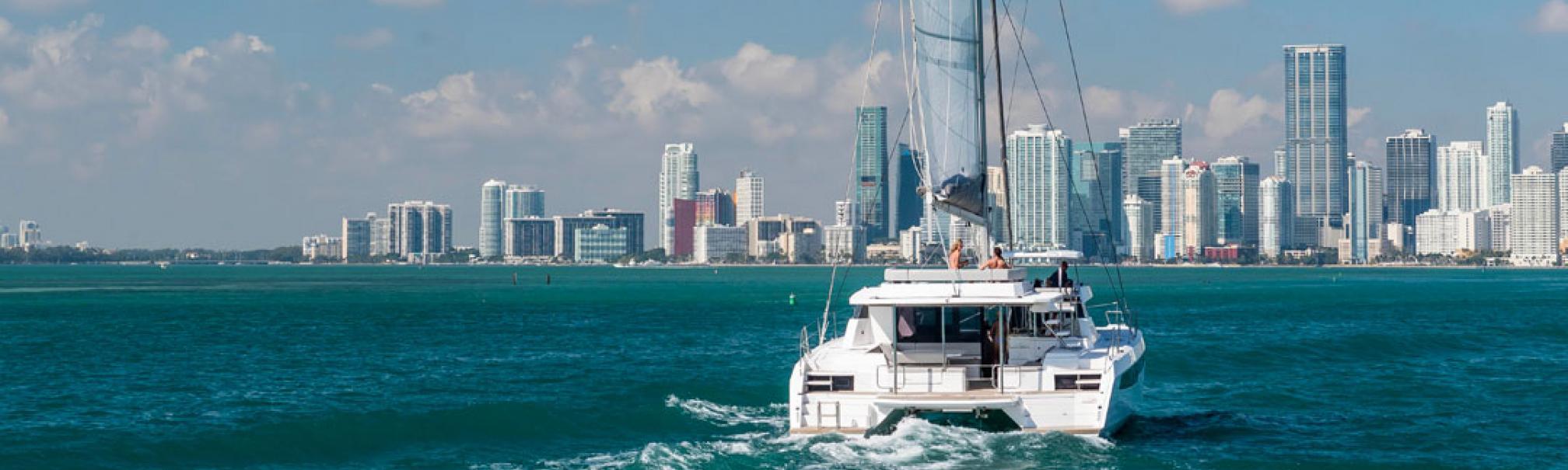 Miami Boat Show Leopard Catamarans